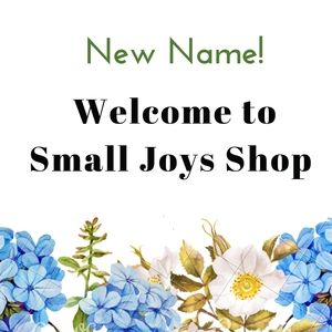 Welcome to Small Joys Shop 🌼!